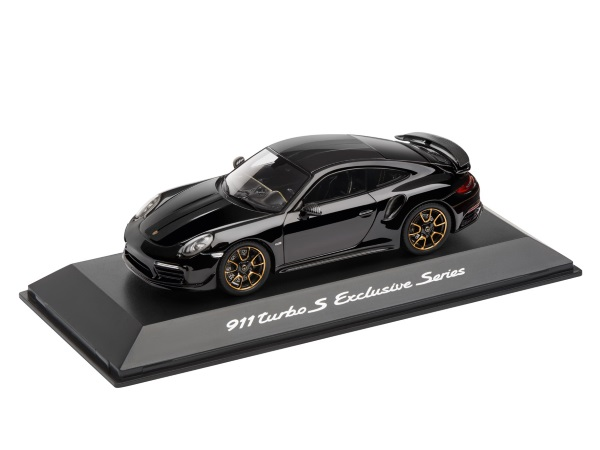 911 Turbo S, Exclusive Series, Black, 1:43